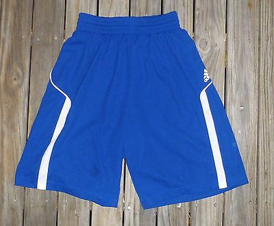 New Small Mens ADIDAS Shorts Blue with White Trims Ex Shop Stock