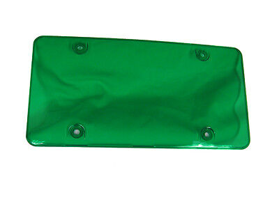 License Plate Frame Green Cover, 2pcs fit Canada & USA License plate 866