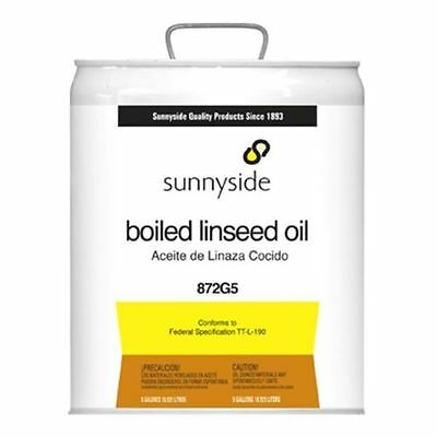5 Gallon, Boiled Linseed Oil 872G5