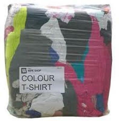 Rags Coloured T-Shirt 10Kg Pack