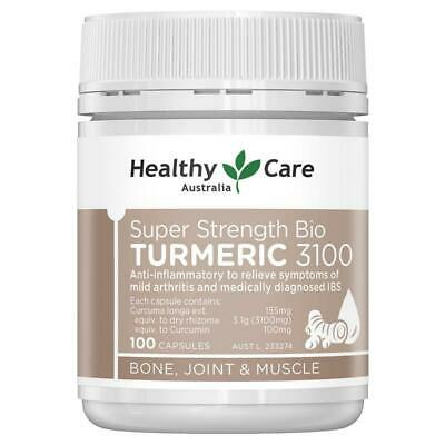 Healthy Care Turmeric 3000 100 Capsules