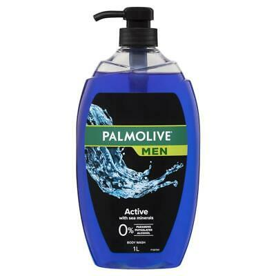 Palmolive Mens Shower Gel Active 1 Litre