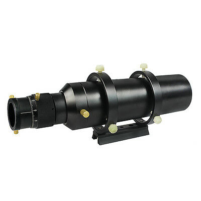 "60mm Guide Deluxe Compact Scope Finderscope w / 1.25 ""Double Helical Focuser Hot"