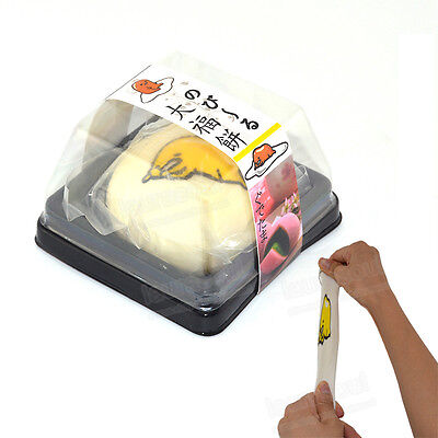 Novel Stretchable Scented Gudetama Squeeze Japanese Mochi Food With Box Kid Toy