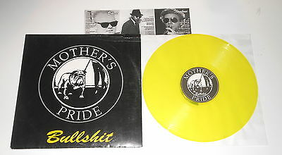 Mother's Pride - LP - Bullshit - YELLOW VINYL - Impact Rhythm IR - L - 036