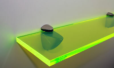Funky Shelf- Neon Green Perspex / Acrylic 10mm