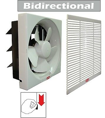 """8"""" DOMESTIC/LIGHT INDUSTRIAL BIDIRECTIONAL EXTRACTOR FAN, 240 V, 500 m3/h"""