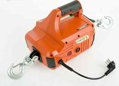 New 450kg 4.6m Traction Block Portable Winch Traction Hoist / Remote