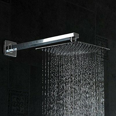 16 Rainfall Shower Head Yawall Ultra Thin Stainless Steel And High