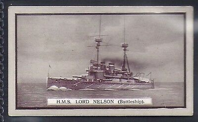 Gallaher-British Naval Series-#38- Hms Lord Nelson