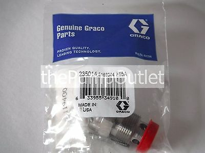 Graco 235014 Prime Spray Valve Original Equipment 235-014 W/expedited Shipping