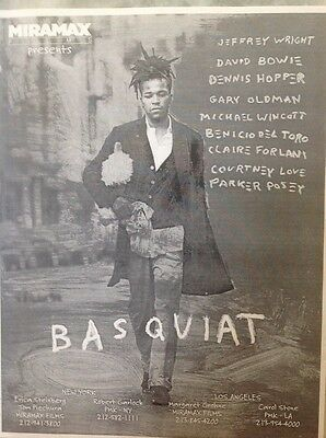 Basquiat Movie Press Kit, Plus Bonus Kits, Nil By Mouth, Smilla's Sense Of Snow