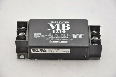 Nemic-Lambda MB 1210 Noise Filter 250V 10A