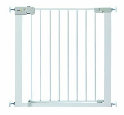 Safety 1st Simply Close Pressure Fit Metal Gate White Simply Close Stair Gate