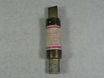 Shawmut TR125 Time Delay Fuse 125A 250V   USED