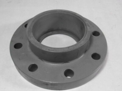 "Chemkor F1970 Socket Flange 4"" S-80 150psi 8-Bolt CPVC  USED"