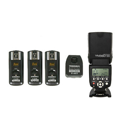 YongNuo YN560III Speedlite + RF-602 Flash Wireless Trigger for Nikon Pentax Sony
