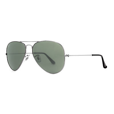 Ray Ban RB 3025 W0879 58mm Gunmetal G-15 Lens Unisex Aviator Sunglasses