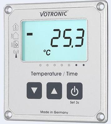 Votronic LCD-Thermometer / Uhr S