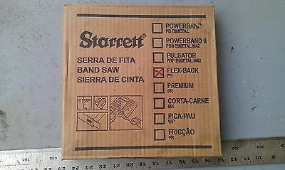 "30M Starrett Flex-back Metal Cutting Band Saw Blade FB 5/8"" x 10RR 10tpi bandsaw"