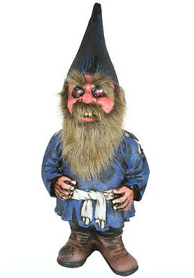 Grimshaw The Garden Gnome Quality Latex Halloween Party Prop - 80cm