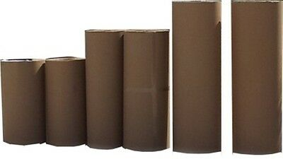 CORRUGATED CARDBOARD ROLL - 610MM Wide X 50 linear meters in length