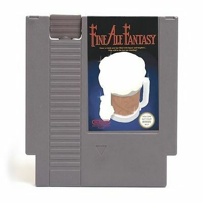 Fine Ale Fantasy - Concealable Nintendo Flask (Video Game NES) NEW