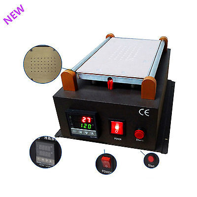 Build-in Pump Vacuum UK LCD Separator Machine Screen Repair Machine Kit Latest