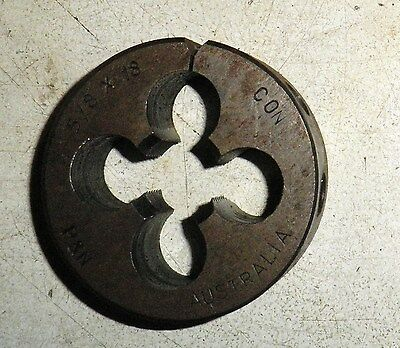 "CON 5/8"" x 18,  RH. 2"" split die button P&N"