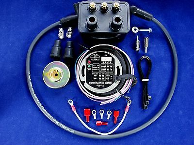 ULTIMA® Single Fire Programmable Ignition Kit, w/Rotor & USA made Coil & Wires