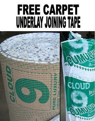Cloud 9 Cumulus Carpet Underlay Brand Leader - 11mm Thick - 15m2 CHEAPEST