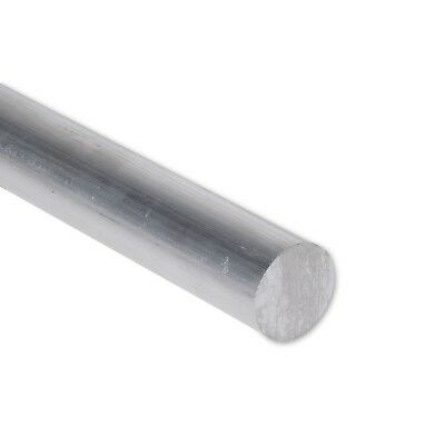 "1"" Diameter 6061 Aluminum Round Rod 12"" Length T6511 Extruded 1.0 inch Dia"