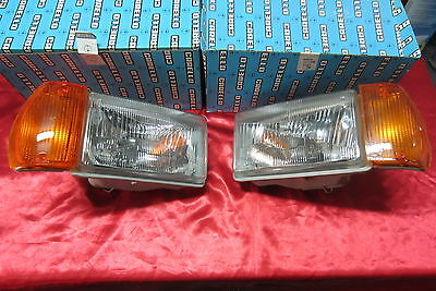 ALFA ROMEO GIULIETTA 77 coppia fari fanali headlight lens headlamp light carello