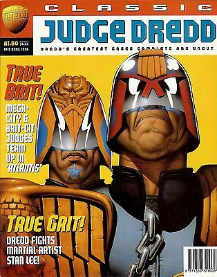 Classic Judge Dredd #9 (1996) collects JD strips from progs 484-490