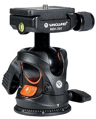 Vanguard BBH-200 tripod ball head with Swivel Mount for Cameras Black