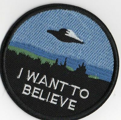 Ecusson X-Files I want to believe The X-files I want to believe patch