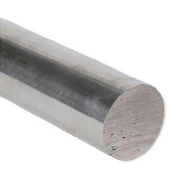 "2"" Diameter 6061 Aluminum Round Rod 4"" Length T6511 Extruded 2.0 inch Dia"