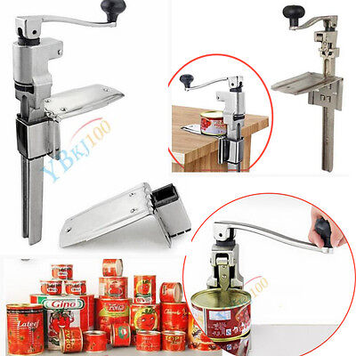 Useful Commercial Catering Heavy Duty Bench Top Cast Steel Large Can Tin Opener