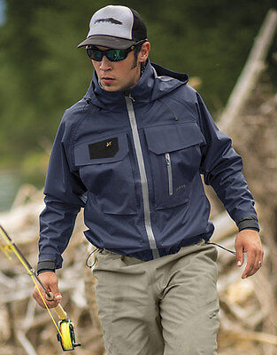 New Orvis Clearwater Fly Fishing Rain Wading Jacket Size XL FREE SHIPPING