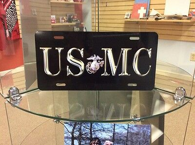 USMC:  Novelty Vanity License Plate, USA Made