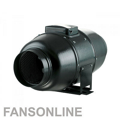 TT Silent Mixflow Inline Fan 150mm - Quiet Exhaust Fan | Fansonline Ventilation