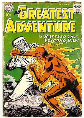 My Greatest Adventure #36 (DC 1959 vg/fn 5.0) 50% off price guide value