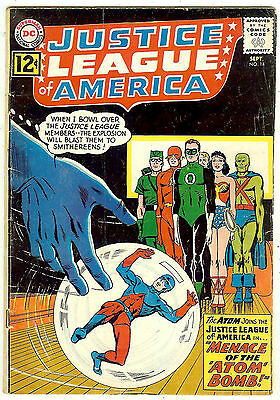 Justice League of America #14 (DC 1962 fn 6.0) over 50% off price guide