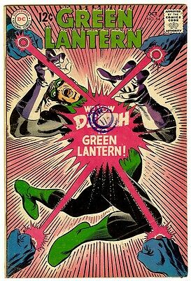 Green Lantern #64 (DC 1968; fn+ 6.5) 50% off price guide value