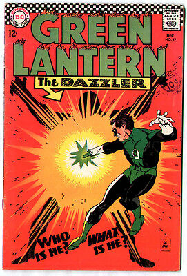 Green Lantern #49 (DC 1967; fn+ 6.5) 50% off price guide value