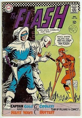 The Flash #166 (1966; vg/fn 5.0) 35% off price guide value