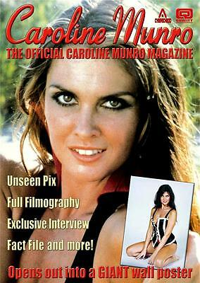 The Official Caroline Munro Magazine with 2ft x 3ft poster