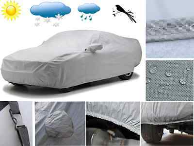 Heavy Duty Waterproof Car Cover Breathable UV Protection Outdoor