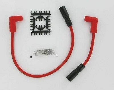 8mm Spark Plug Wire Set Accel Red 171097-R