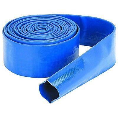 """2"""" x 25' PVC Water Waste Hose Discharge Discharging Rv Pump Outlet Drain"""